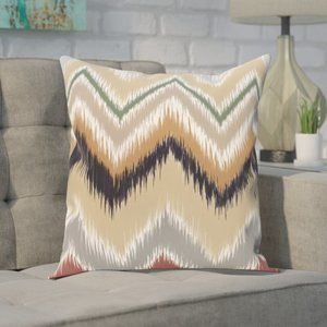 IVY BRONX Guillame Outdoor Square Throw Pillow NEW
